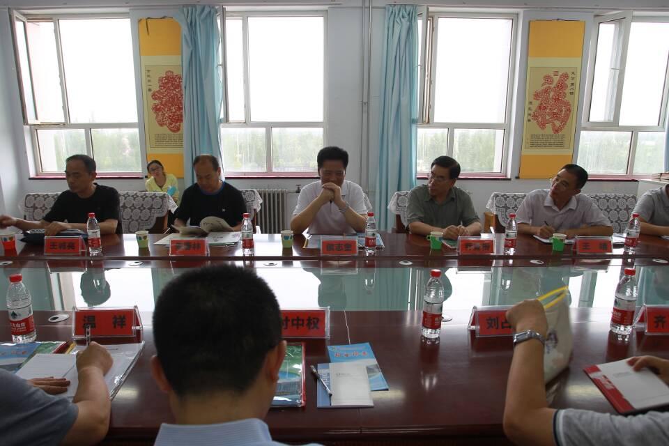省关工委常务副主任侯志奎到蔚县调研指导工作
