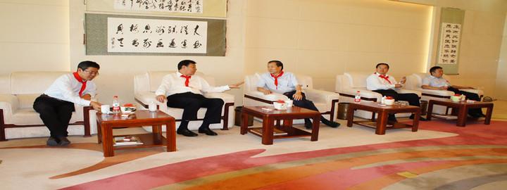 """中国关心下一代工作委员会、自治区关心下一代工作委员会在恩格贝生态示范区建立""""关心下一代教育活动基地"""""""
