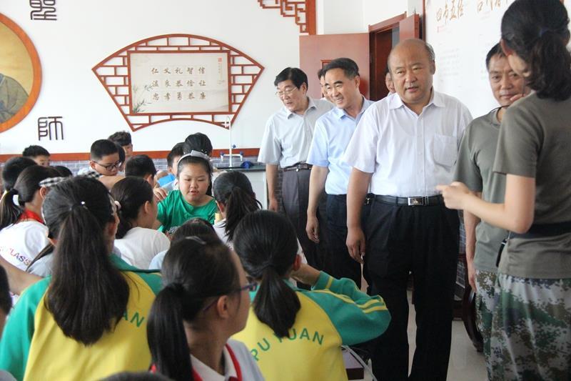 山东省关工委常务副主任张少军到临沂调研