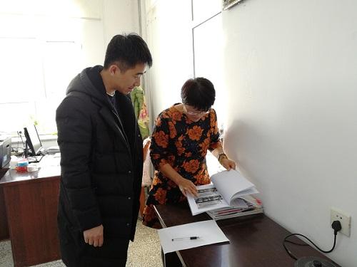 黑龙江省农垦总局红旗岭农场关工委进行年终检查督导工作