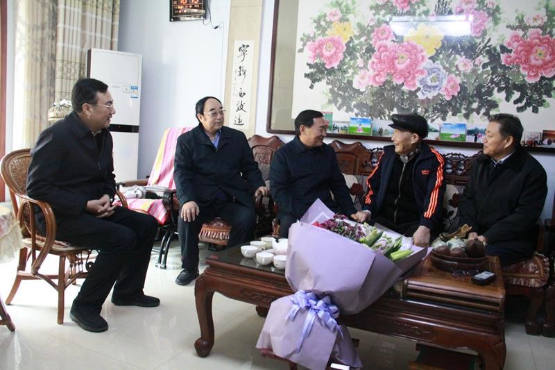 山东省关工委常务副主任郭兆信到淄博市调研