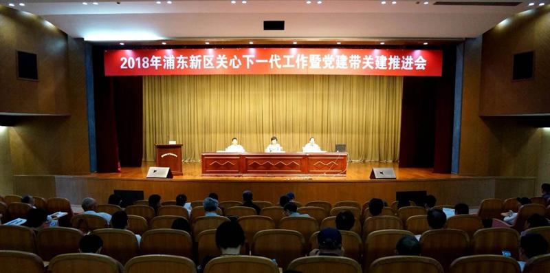上海市浦东新区召开关心下一代工作暨党建带关建推进会