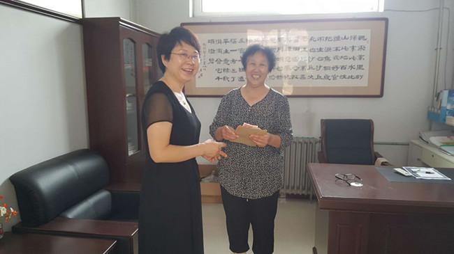 邢台市关工委到桥西区慰问五老代表