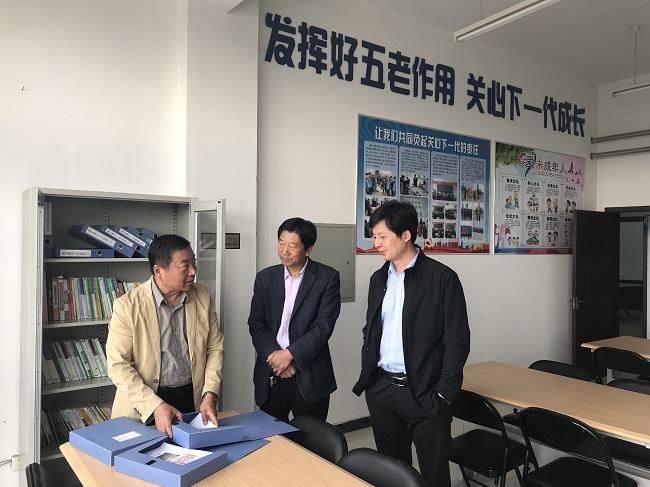 """唐山市关工委到基层""""五老工作站""""调研督导"""