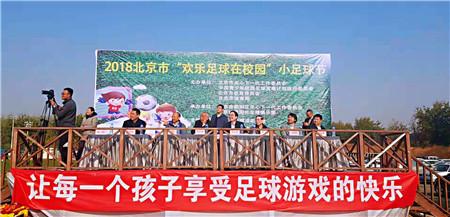 """北京市2018""""欢乐足球在校园""""小足球节举办"""