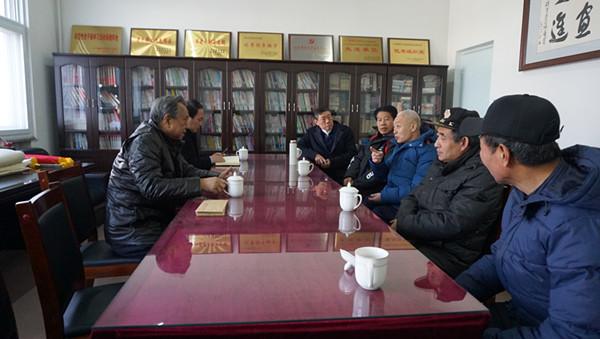 廊坊市关工委领导到大厂县慰问基层五老代表