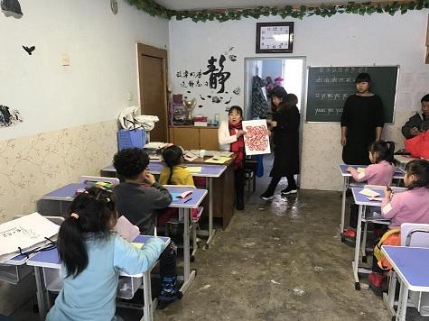 传承优秀传统文化 巧手剪纸迎新春