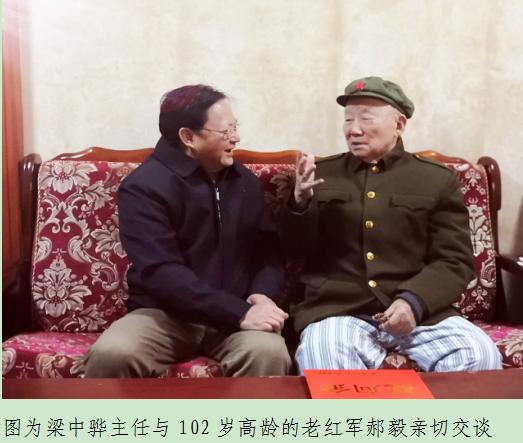 """广西南宁市关工委开展慰问""""五老""""活动"""