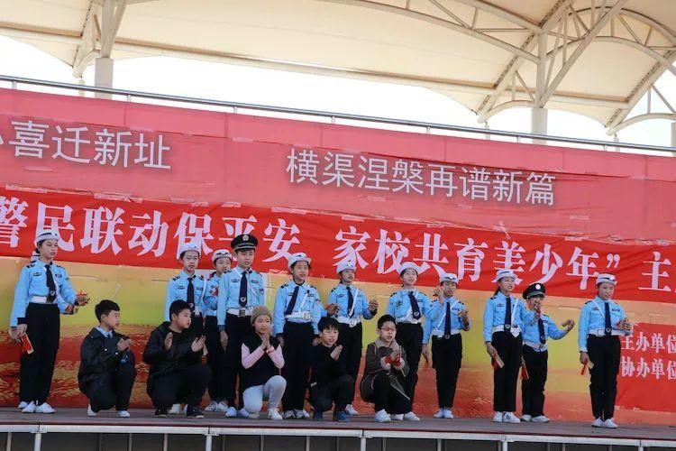 河北省滦州市交警走进校园开展交通安全宣传教育活动