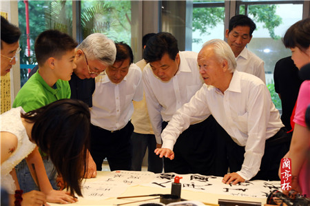 """第八届""""兰亭杯""""北京中小学生书法大赛颁奖仪式举行"""