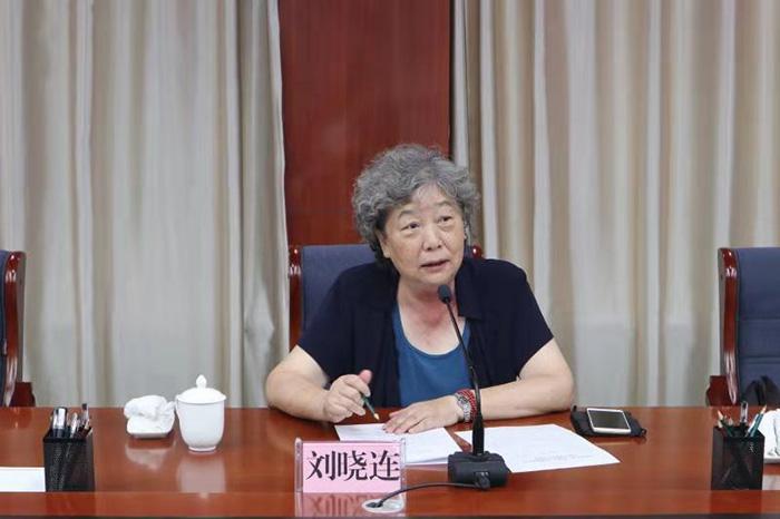 中国关工委常务副主任刘晓连在白银市对关心下一代项目实施进行前期考察