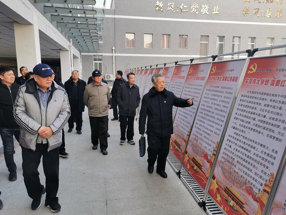 河北省关工委调研平顶山市关心下一代工作