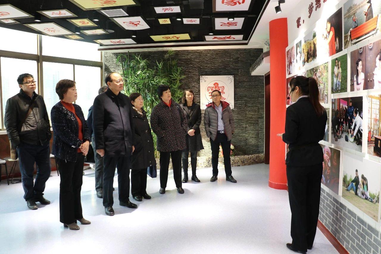 陕西省关工委领导成员参观陕西省家风馆
