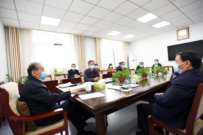 山东省关工委召开会议研究当前工作