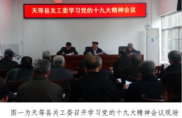 天等县关工委召开学习党的十九大精神会议暨关心下一代工作现场会