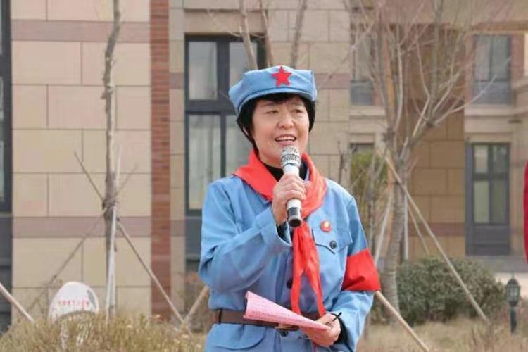 王桂芳:牢记社会责任 传承红色基因