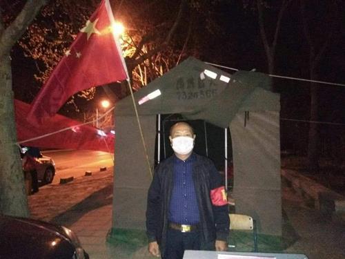 """禹城市老年大学关工委""""五老""""志愿者奋战抗击疫情第一线"""